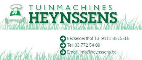 Tuinmachines Heynssens