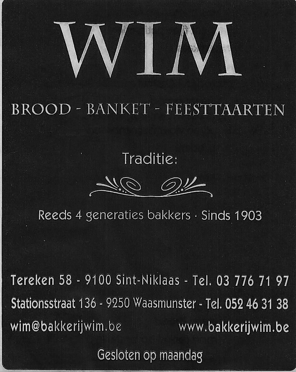 Logo Bakkerij Wim